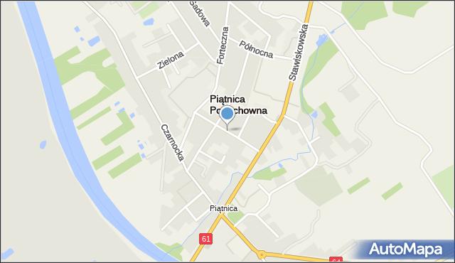 Piątnica Poduchowna, Wesoła, mapa Piątnica Poduchowna