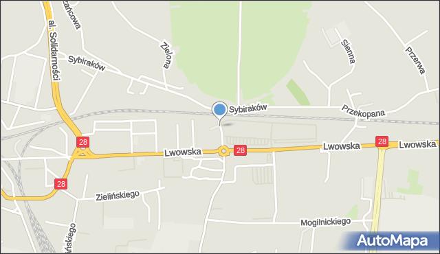 Przemyśl, Wernerus-Neumann Heidi, mapa Przemyśla