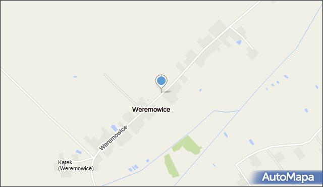 Weremowice, Weremowice, mapa Weremowice