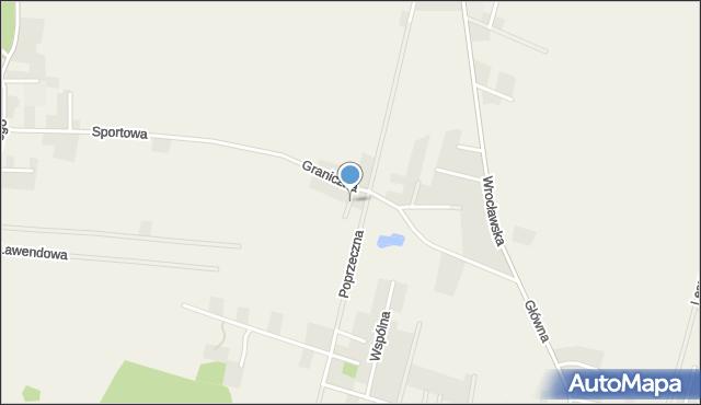Wilkszyn, Wesoła, mapa Wilkszyn