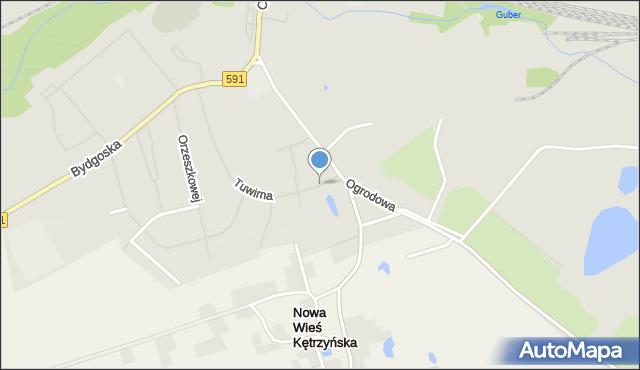 Kętrzyn, Wiejska, mapa Kętrzyn