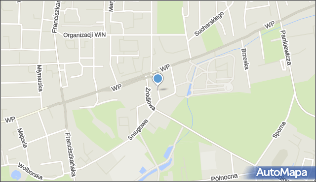 Łódź, Widok, mapa Łodzi