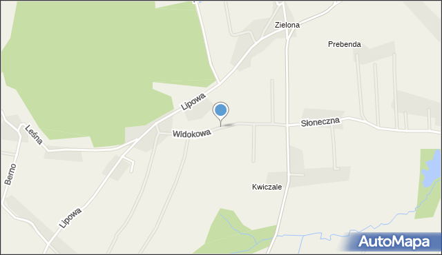 Nidek, Widokowa, mapa Nidek