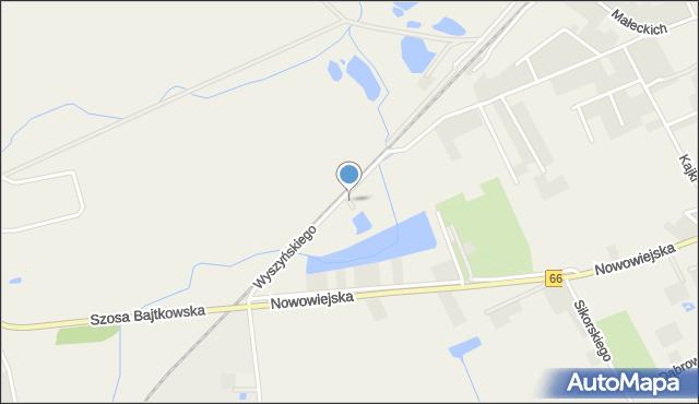Nowa Wieś Ełcka, Wierzbowa, mapa Nowa Wieś Ełcka