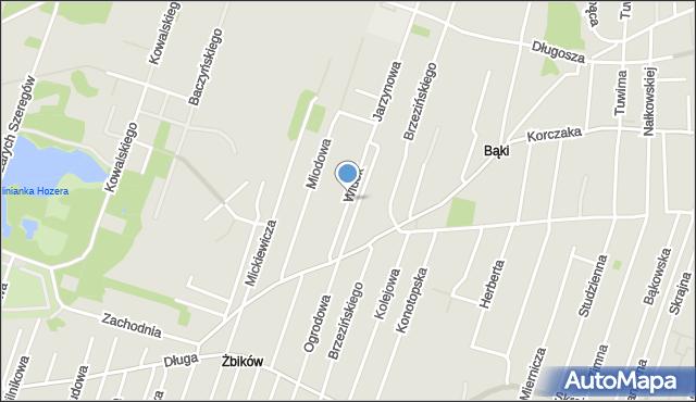 Pruszków, Widok, mapa Pruszków