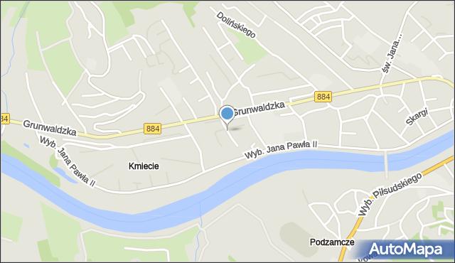Przemyśl, Wieniawskiego Henryka, mapa Przemyśla