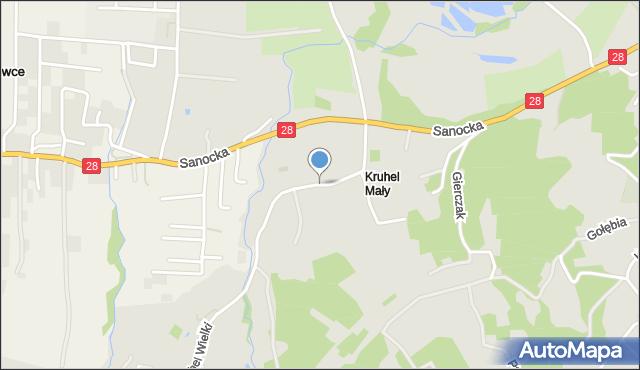 Przemyśl, Witoszyńska, mapa Przemyśla
