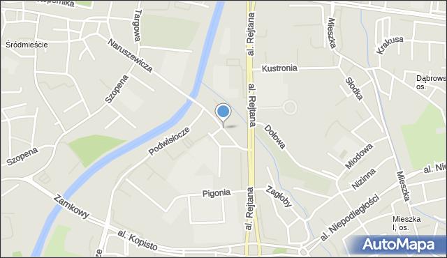 Rzeszów, Wierzbowa, mapa Rzeszów