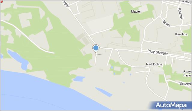 Toruń, Wianki, mapa Torunia