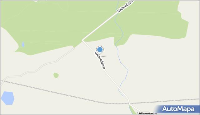 Wilamówko, Wilamówko, mapa Wilamówko