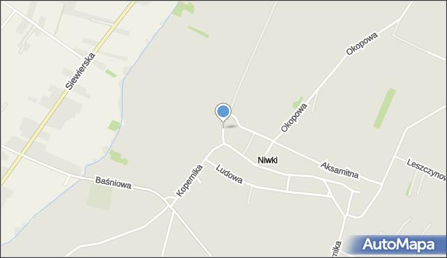 Poręba powiat zawierciański, Wodna, mapa Poręba powiat zawierciański