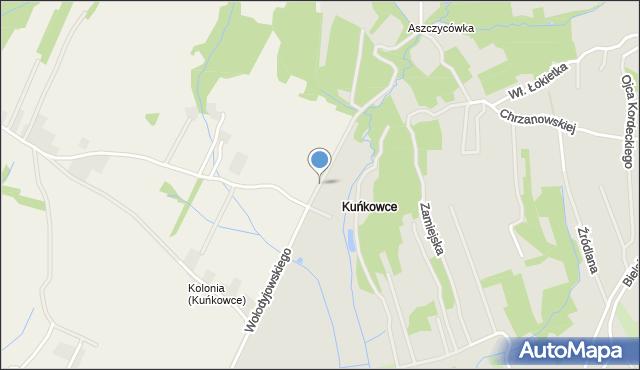 Przemyśl, Wołodyjowskiego Michała, mapa Przemyśla