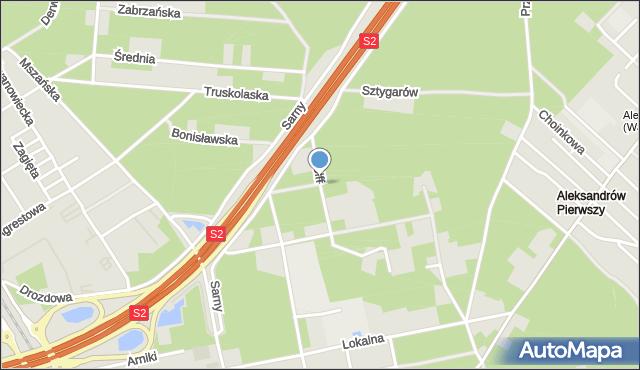 Warszawa, Wolff Heleny, mapa Warszawy