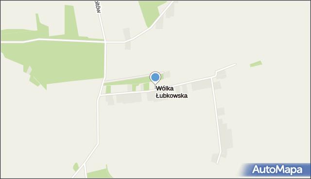 Wólka Łubkowska, Wólka Łubkowska, mapa Wólka Łubkowska