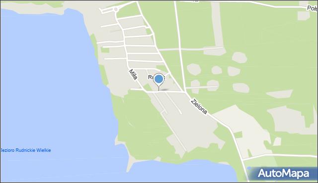 Grudziądz, Wrzosowa, mapa Grudziądza