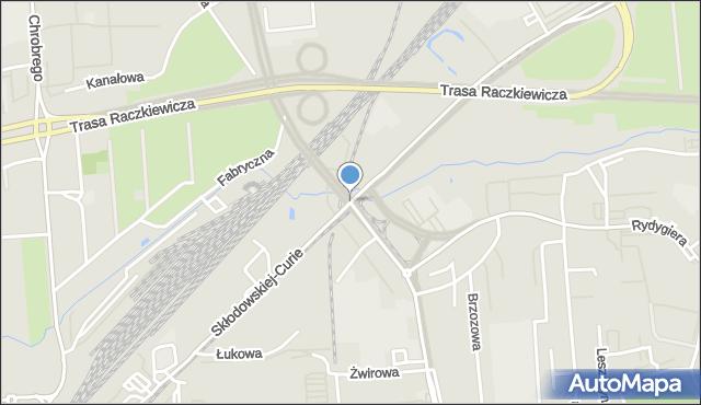 Toruń, Wschodnia, mapa Torunia