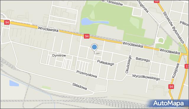 Bytom, Wyspiańskiego Stanisława, mapa Bytomia