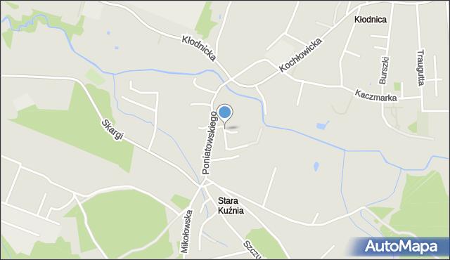 Ruda Śląska, Wyżynna, mapa Rudy Śląskiej