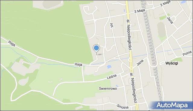 Sopot, Wyspiańskiego Stanisława, mapa Sopotu
