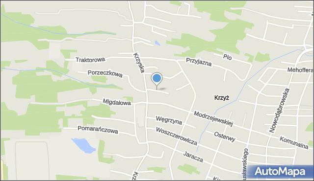 Tarnów, Wyczółkowskiego Leona, mapa Tarnów