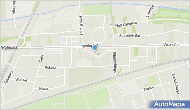 Zabrze, Wyspiańskiego Stanisława, mapa Zabrza