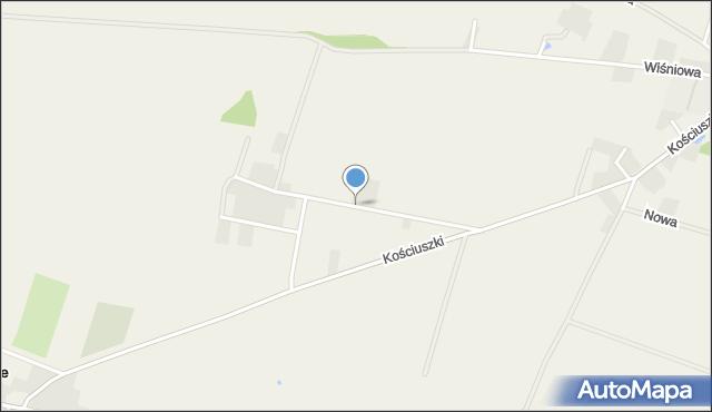 Lutynia gmina Miękinia, Zachodnia, mapa Lutynia gmina Miękinia