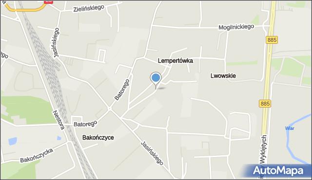 Przemyśl, Zamoyskiego Jana, hetm., mapa Przemyśla