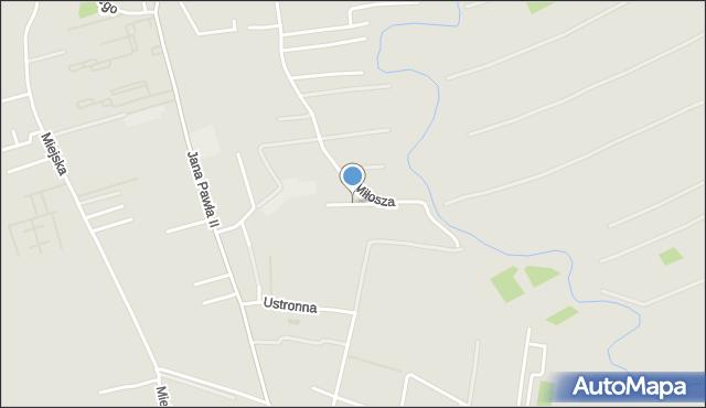 Rzeszów, Zastruże, mapa Rzeszów