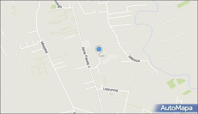 Rzeszów, Zakątkowa, mapa Rzeszów