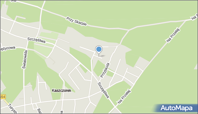 Toruń, Zakosy, mapa Torunia