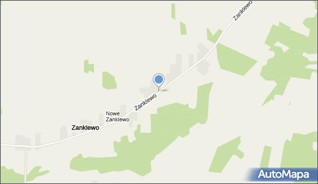 Zanklewo, Zanklewo, mapa Zanklewo