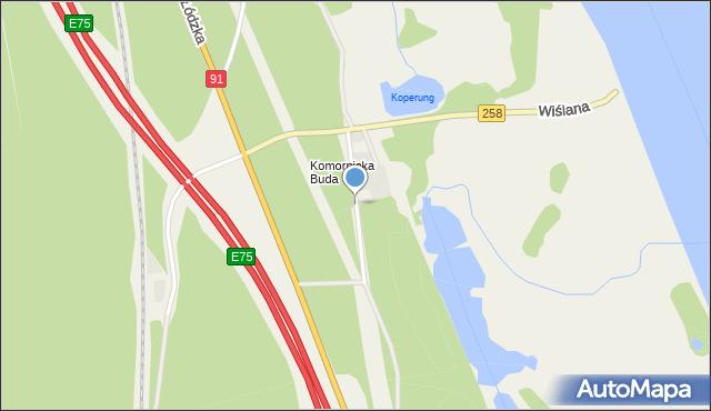 Brzoza gmina Wielka Nieszawka, Żeglarzy, mapa Brzoza gmina Wielka Nieszawka