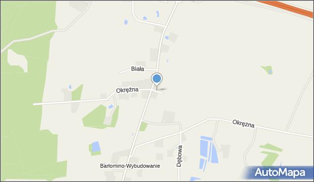 Luzino, Złota, mapa Luzino