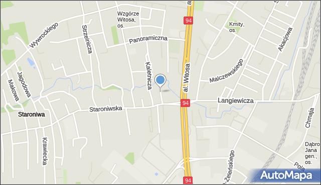 Rzeszów, Złota, mapa Rzeszów
