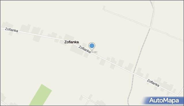 Zofianka, Zofianka, mapa Zofianka
