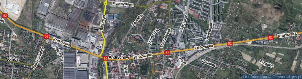 Zdjęcie satelitarne 27 Stycznia ul.