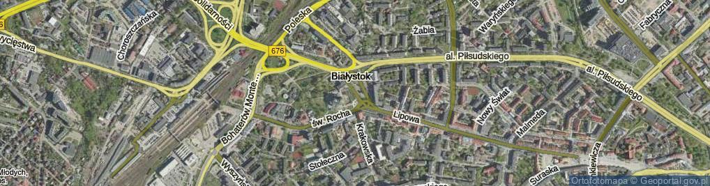 Zdjęcie satelitarne Abramowicza Adama, ks. ul.