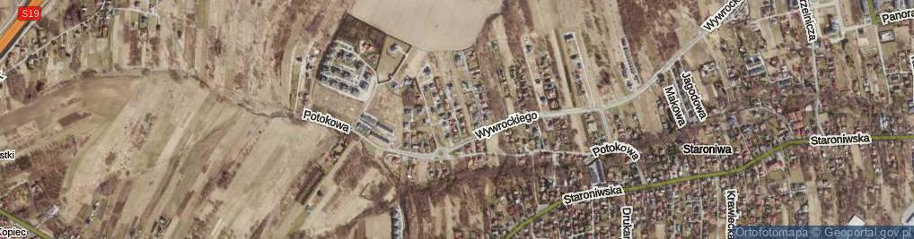 Zdjęcie satelitarne Agrestowa ul.