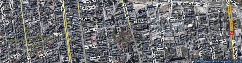 Zdjęcie satelitarne Aleja Walickiego Franciszka al.