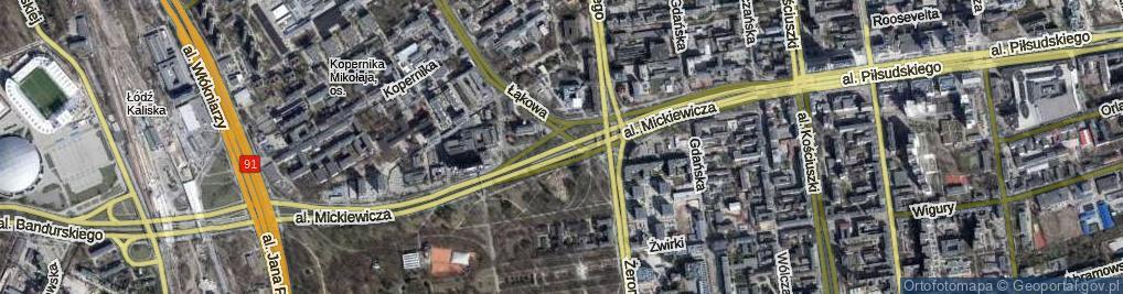 Zdjęcie satelitarne Aleja Mickiewicza Adama al.