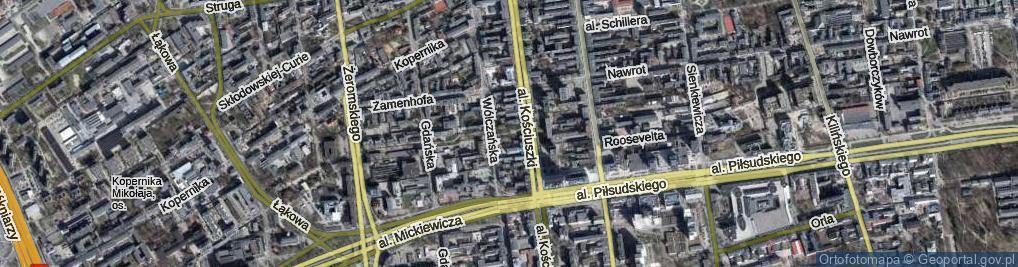 Zdjęcie satelitarne Aleja Rynkowskiej Anny al.