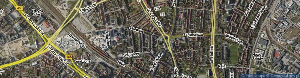 Zdjęcie satelitarne Aldony ul.