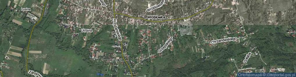 Zdjęcie satelitarne Aleksandrowicza Adolfa ul.