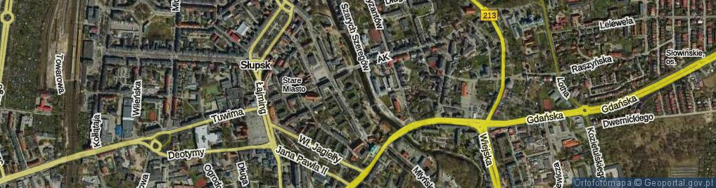 Zdjęcie satelitarne Aleja Nullo Francesco al.