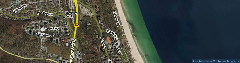Zdjęcie satelitarne Aleja Mamuszki Franciszka al.