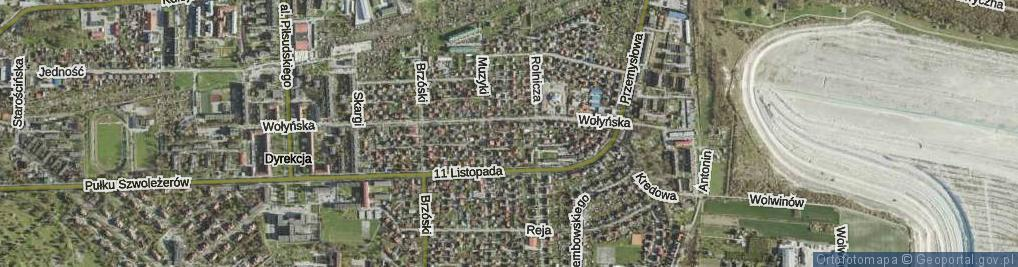 Zdjęcie satelitarne Ambroziewicza Wiktora ul.