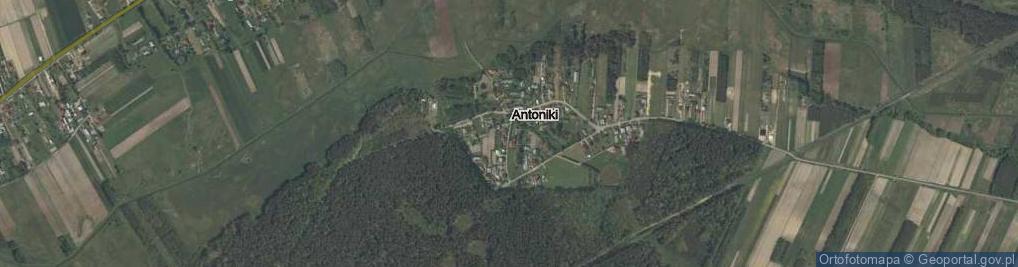 Zdjęcie satelitarne Antoniki ul.