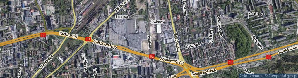 Zdjęcie satelitarne Apatora ul.