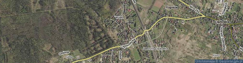 Zdjęcie satelitarne Bartnicza ul.
