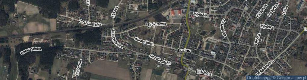 Zdjęcie satelitarne Bądkowskiego ul.
